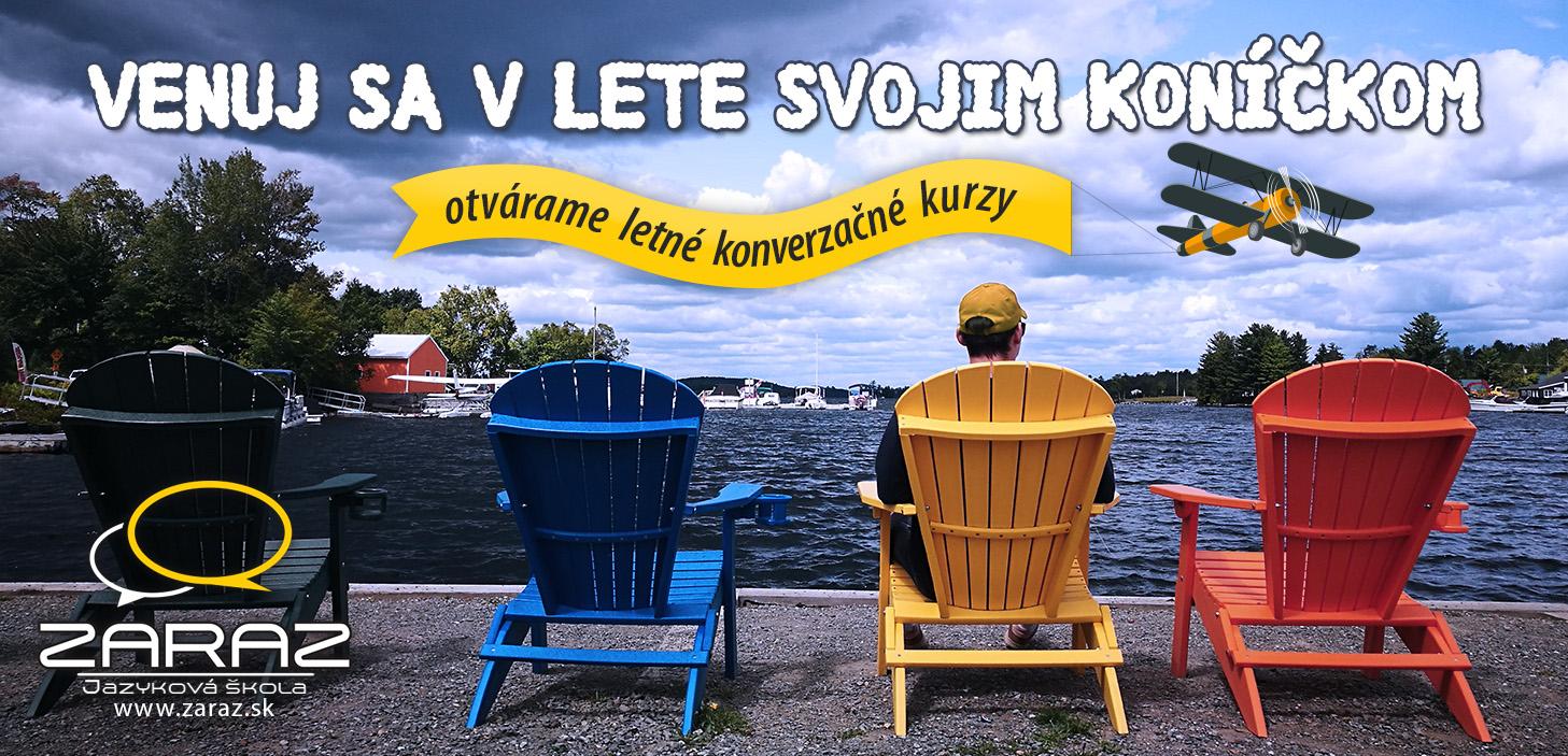 S nami sa môžete učiť aj počas krásnych letných dní!